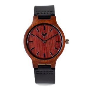Buttercup Wood Watch The White Rooster Unisex Boho